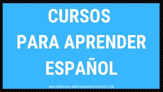 Cursos para aprender español