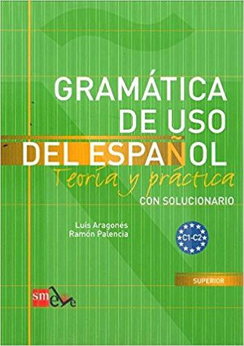 Libro de gramática para aprender español  avanzado