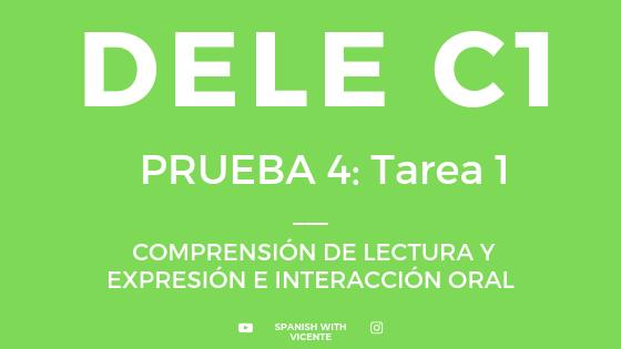 Tarea 1 Expresión Oral DELE C1
