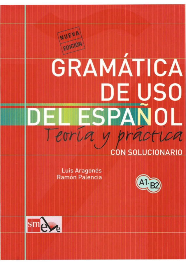 Libro de gramática para aprender español