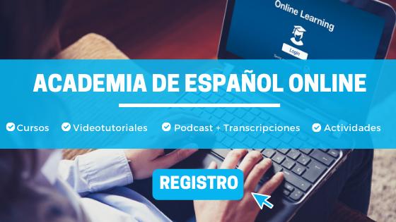 Banner Academia de español
