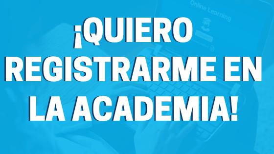 registrarse en la academia de español online