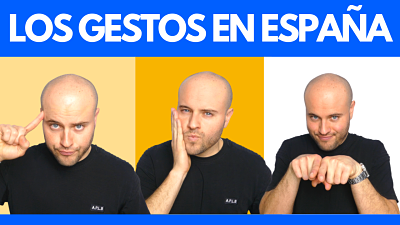 Gestos que hacen los españoles en España