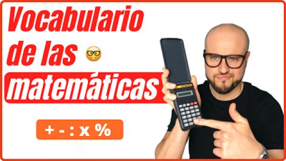 Vocabulario de las matemáticas en español