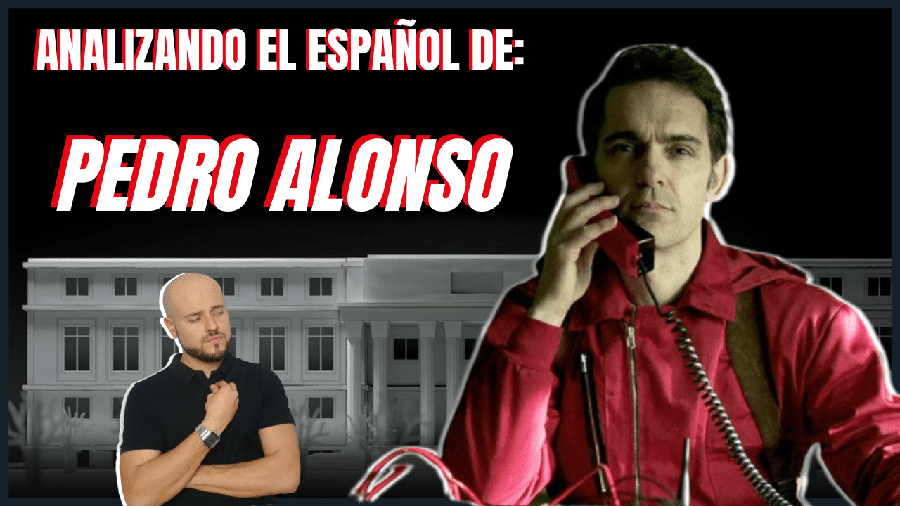 Analizando el español de Pedro Alonso Entrevista a Pedro Alonso para aprender español Análisis del español de los famosos de la casa de papel
