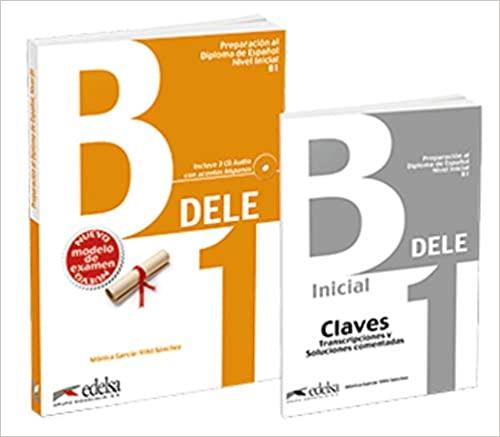 Libro DELE B1 Edelsa con respuestas Instituto Cervantes Examen DELE B1